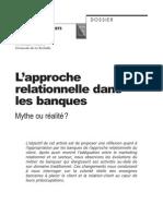 L'Approche Relationnelle Dans Les Banques.