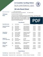SCCU 100 - 2012-08-05 - Result Sheet