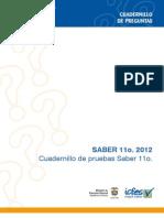 Cuadernillo de Pruebas Saber 11