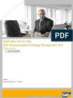 SSM10 Application Server Help
