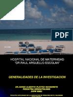 Generalidades de La Investigacion