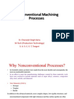 Introduction to Non Conventional Mc Process