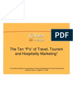 The Ten Ps of Tourism Marketing