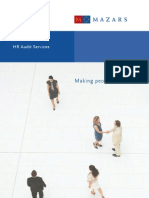 HR Audit Services Brochure