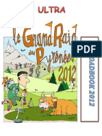 Roadbook Grand Raid Pyrenees 2012 Ultra