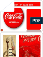 Presentation on Coca-cola