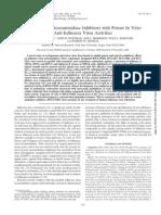 Cyclopentane Neuraminidase Inhibitors h5n1