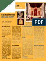 Iglesia de San Ginés - Rincones Culturales agosto 2012 -