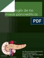 Semiología de las masas pancreáticas