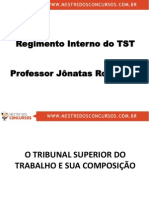 Regimento Interno do TST Comentado com Exercícios