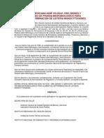 Norma Oficial Mexicana No1 Listeria Monocytogenes