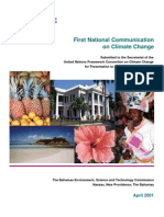 Bahamas, First National Communication on Climate Change, 4-2001