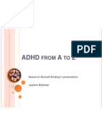 adhd from a to z