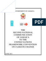 Government of Jamaica, Second National Communication of Jamaica to the United Nations Framework Convention on Climate Change, 6-2011