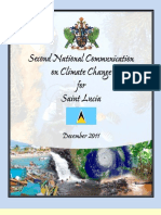 Second National Communication on Climate Change for Saint Lucia, 12-2011