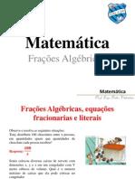 frações algebircas