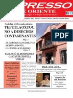 Expresso de Oriente 6 de Agosto Del 2012