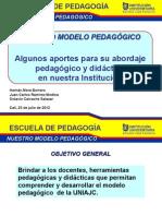 El Modelo Pedagógico UNIAJC_28 julio 2012
