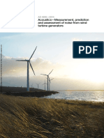 As 4959-2010 Acoustics - Measurement Prediction and Assessment of Noise From Wind Turbine Generators