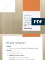 Furnace Construction & Operations