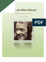 Cours de Gilles Deleuze Cinema Image Mouvement