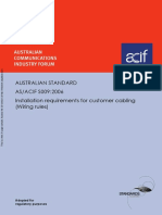 As ACIF S009-2006 Installation Requirements for Customer Cabling (Wiring Rules)