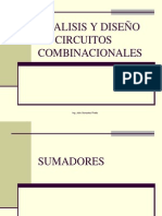 ANALISIS Y DISEÑO DE CIRCUITOS COMBINACIONALES