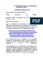 INSTITUTO PRO GOBERNABILIDAD DE LA EDUCACIÓN PERUANA