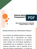 Sistema Nacional del Presupuesto Público