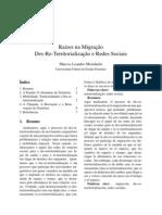 Raízes na Migração - Des-Re-Territorialização e Redes Sociais