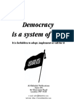 Democracy is a System of Kufr