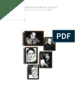Sumillas del V Congreso Nacional de Historia 2012