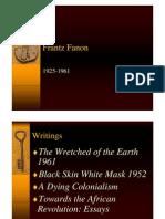 Frantz Fanon. Bio