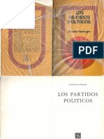 Maurice Duverger Partidos Políticos 1-29