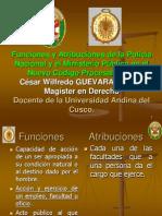 Policía y Ministerio Público en el NCPP