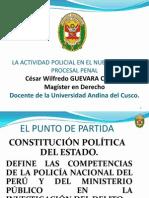 La Actividad Policial en El NCPP