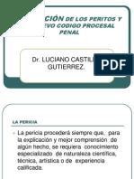 Actuacion de los Peritos y el nuevo codigo procesal penal