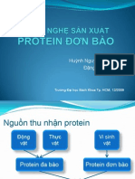 CÔNG NGHỆ SẢN XUẤT protein don bao