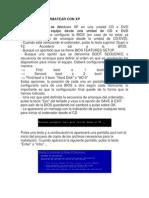 Pasos Para Formatear Con Xp