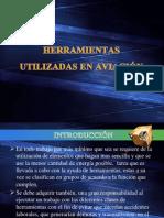 HERRAMIENTAS UTILIZADAS EN AVIACIÓN