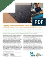 NRDC India Solar Report Executive Summary Lowres