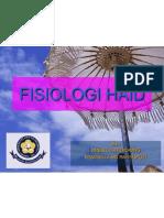 Fisiologi Haid, Presentasi