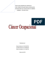 Cancer Ocupacional