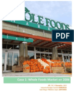 Caso 1 - Whole Foods Market