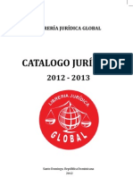 Catalogo Librería Jurídica Global 2012-2013
