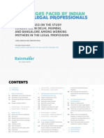 Challenges Faced by Indian Women Legal Professionals (Full Report)