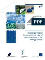 Roadmap Report Concerning the Use of Nanomaterials in the Energy Sector