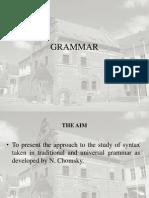Chomsky Grammar