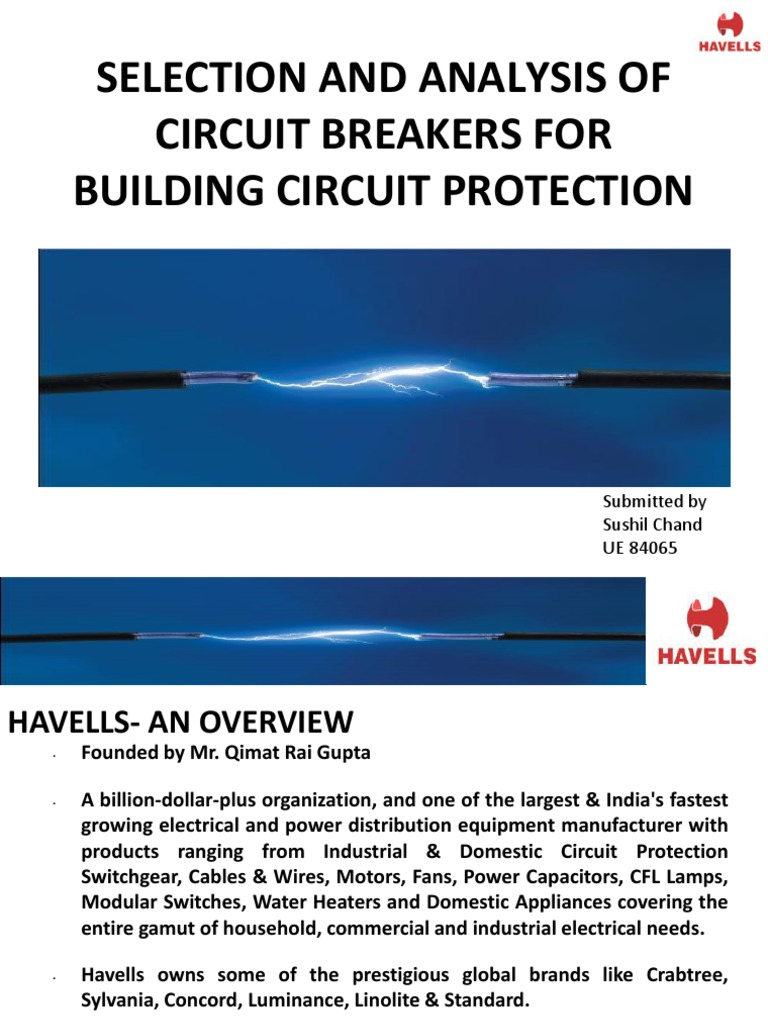 Selection And Analysis Of Circuit Breakers For Building Electric Cfl Ups Diagram Shock Electrical Components