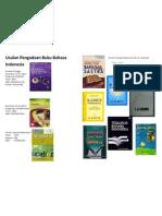 Usulan Pengadaan Buku Bahasa Indonesia